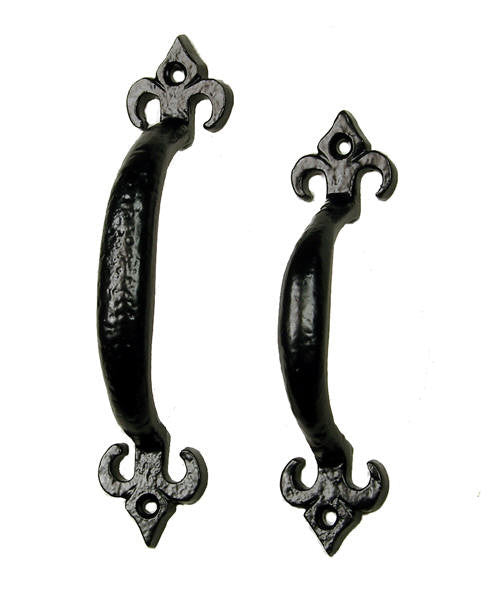 Old World Fleur de Lis Style Cabinet and Drawer Pull