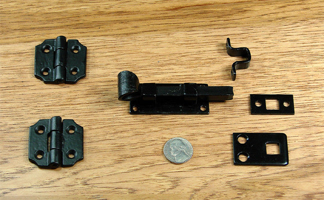 Speakesy Door Mounting Kit #9-B - Wild West Hardware