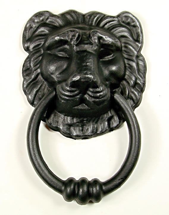 Lion Head Door Knocker - Imported from Italy