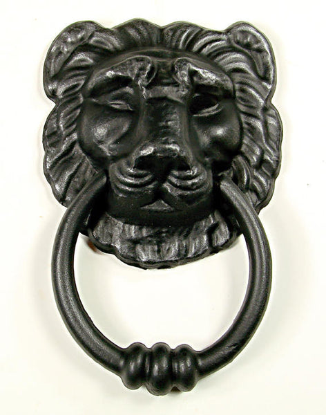 Lion Head Door Knocker 2 Sizes Wild West Hardware