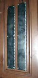 20 Inch Long Rustic Push Plate with Hammered Edges - Wild West Hardware