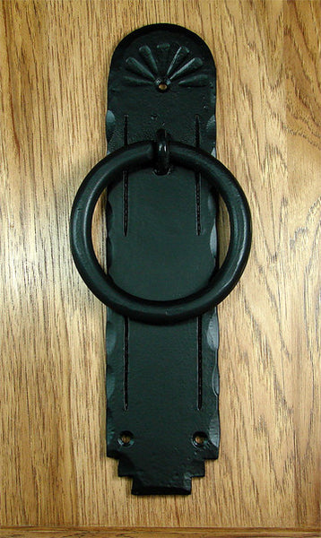 Santa Fe Ring Door Knocker 4 Quot Diameter Ring Matte Black