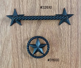 2 Star Drawer Pull - Wild West Hardware