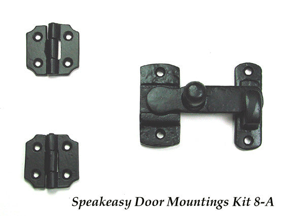 Speakeasy Door Mounting Kit #8 -A