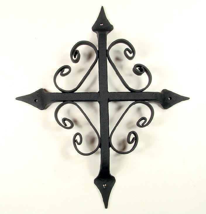 "St. Augustine Speakeasy Grill - 10"" x 12"" - Black Powder Coat finish - Wild West Hardware"