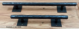 "Barn Door Handle, Tree Branch Door Pull #2 - Dark bronze finish - 18"" handle - Wild West Hardware"