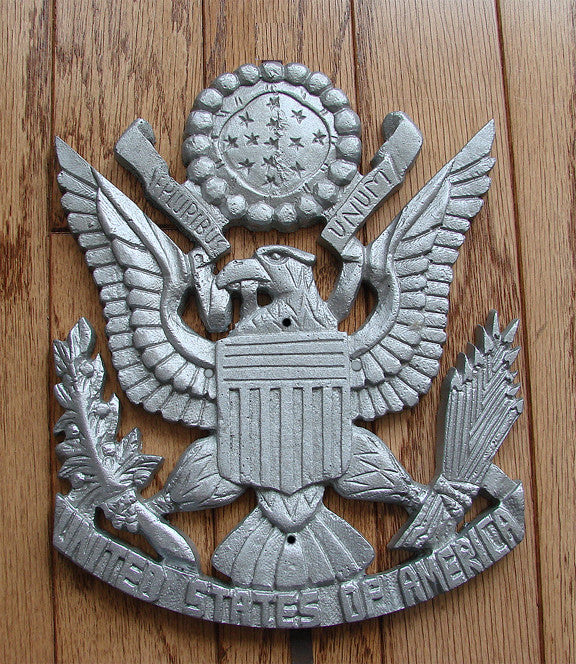 USA Shield Plaque - Unfinished