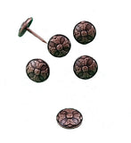 "OLD WORLD Style Clavos - Antique Copper finish 3/4"" diameter - Wild West Hardware"