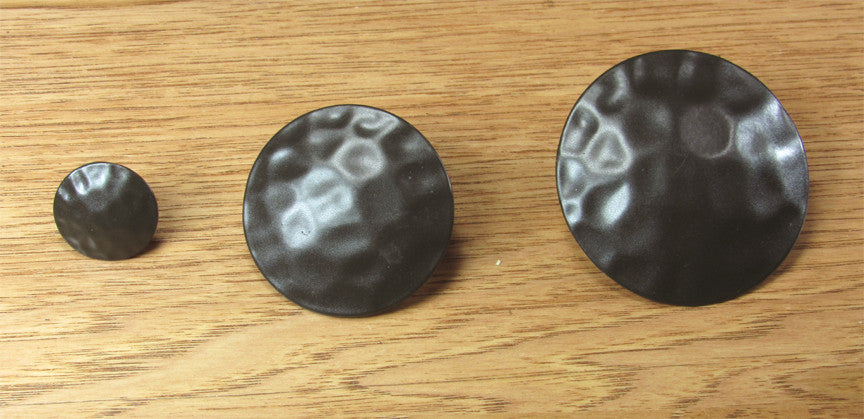 Premium Round Clavos with Dark Bronze Powder Coat Finish - Wild West Hardware