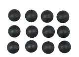 "25 pack SALE of Round Clavos - 1"" dia. Lightly Hammered - Matte black finish - Wild West Hardware"