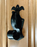 Curled Fleur de Lis Door Knocker - Wild West Hardware