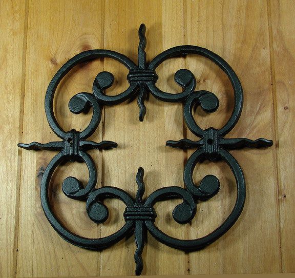 ... Decorative Grille # 2 - For windows gates and doors & Speakeasy Grilles-Other - Door u0026 Gate decorations | Wild West Hardware