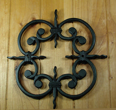 Decorative Grille # 2 - For windows gates and doors - Wild West Hardware