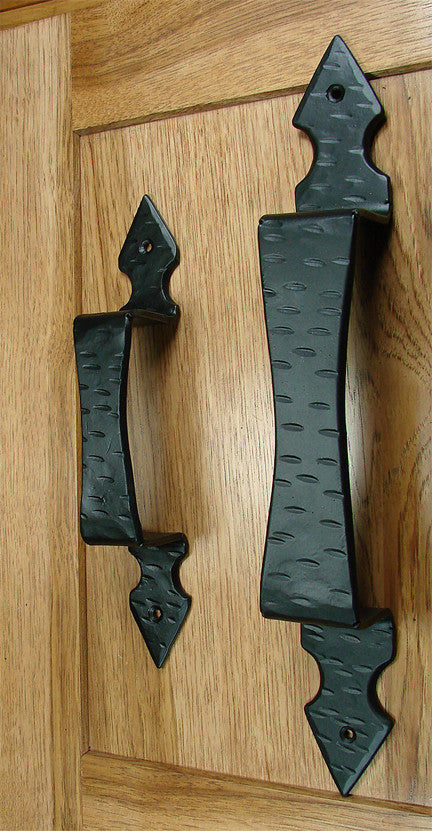 Hammered Arrow Door Pull / Appliance Pull - Barn Door Handle