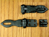 Small Distressed Hasp for padlock - Small - Wild West Hardware