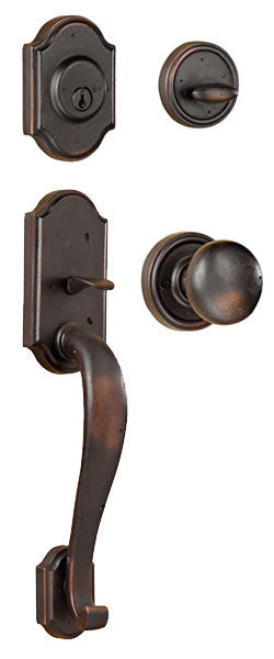The Castletown Handle Set - Wild West Hardware