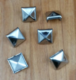 Pyramid Shaped Stainless Steel Nail Cap Clavos - 6 Pack - Wild West Hardware