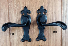 Normandy Decorative Handles for Carriage House Doors - Wild West Hardware