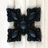 "Ornate Style Clavos, 7/8"" x 7/8"" - Oil Rubbed Bronze finish - Wild West Hardware"