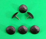 "New Round Clavos -1 1/8"" dia. Matte Bronze finish - Wild West Hardware"