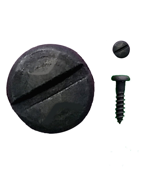"Rustic Pyramid Head Slotted Screws - 5/8"" x #6 - Wild West Hardware"