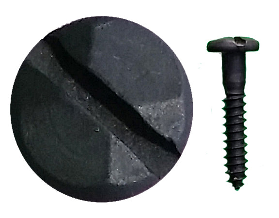 "Rustic Pyramid Head Slotted Screws - 1"" x #8 - Wild West Hardware"