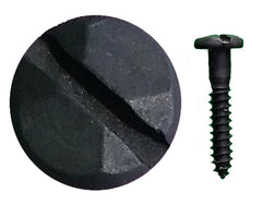 "Rustic Pyramid Head Slotted Screws - 1"" x #8"