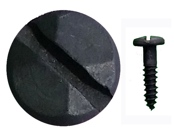 "Rustic Pyramid Head Slotted Screws - 3/4"" x #8 - Wild West Hardware"