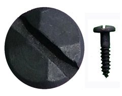 "Rustic Pyramid Head Slotted Screws - 3/4"" x #8"
