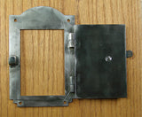 "Iron Door Viewer,  ""Southwestern Style"" (2 pc. Iron Speakeasy Door Viewer Kit)"