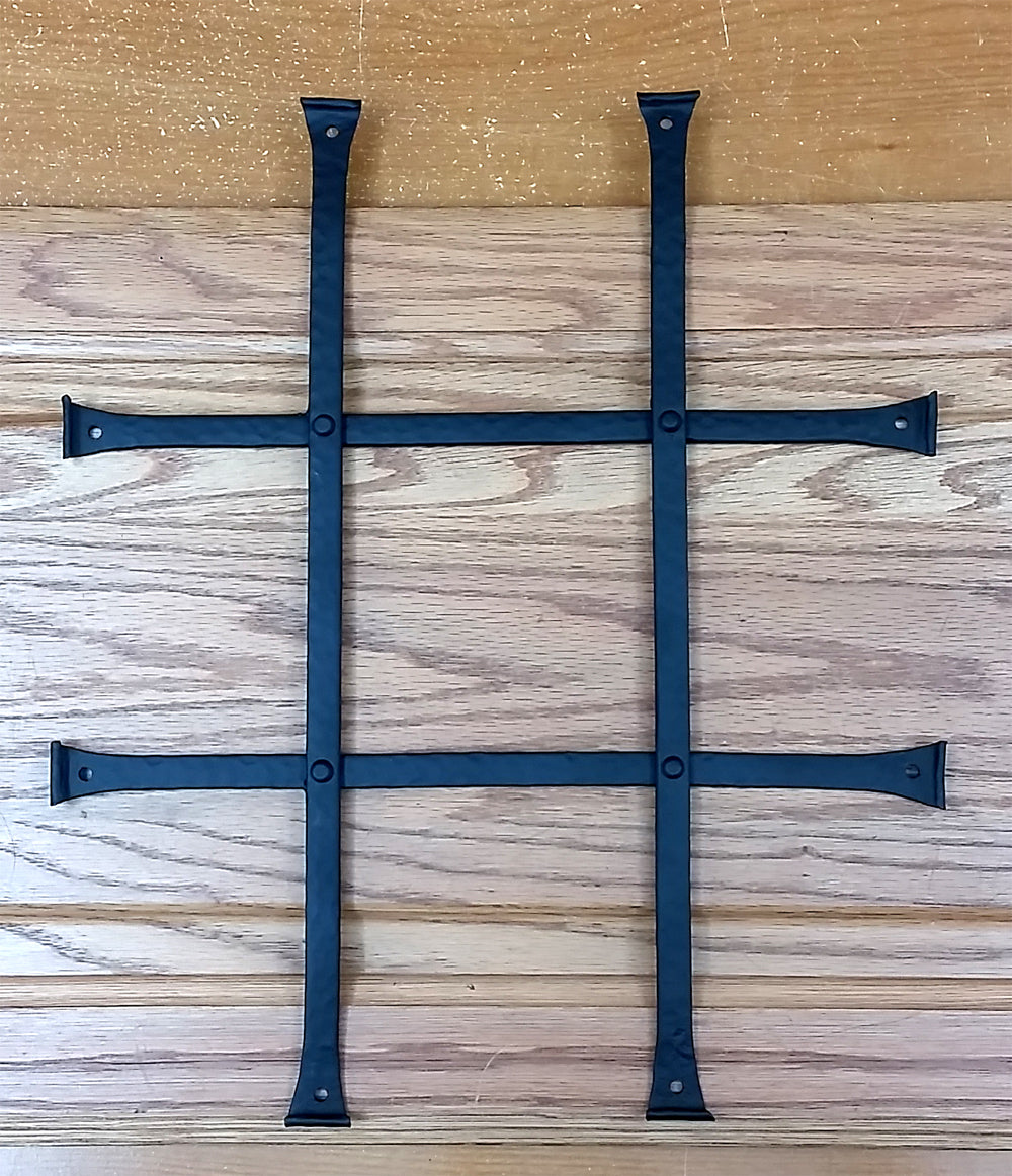 speakeasy grilles for doors, low profile for carriage house doors