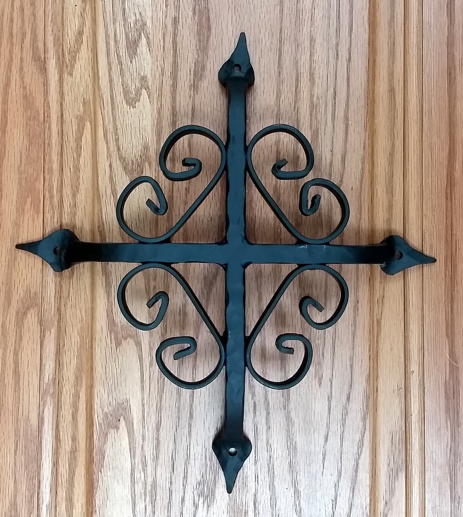 "St. Augustine Grill - 12"" x 12"" - Black Powder Coat finish"