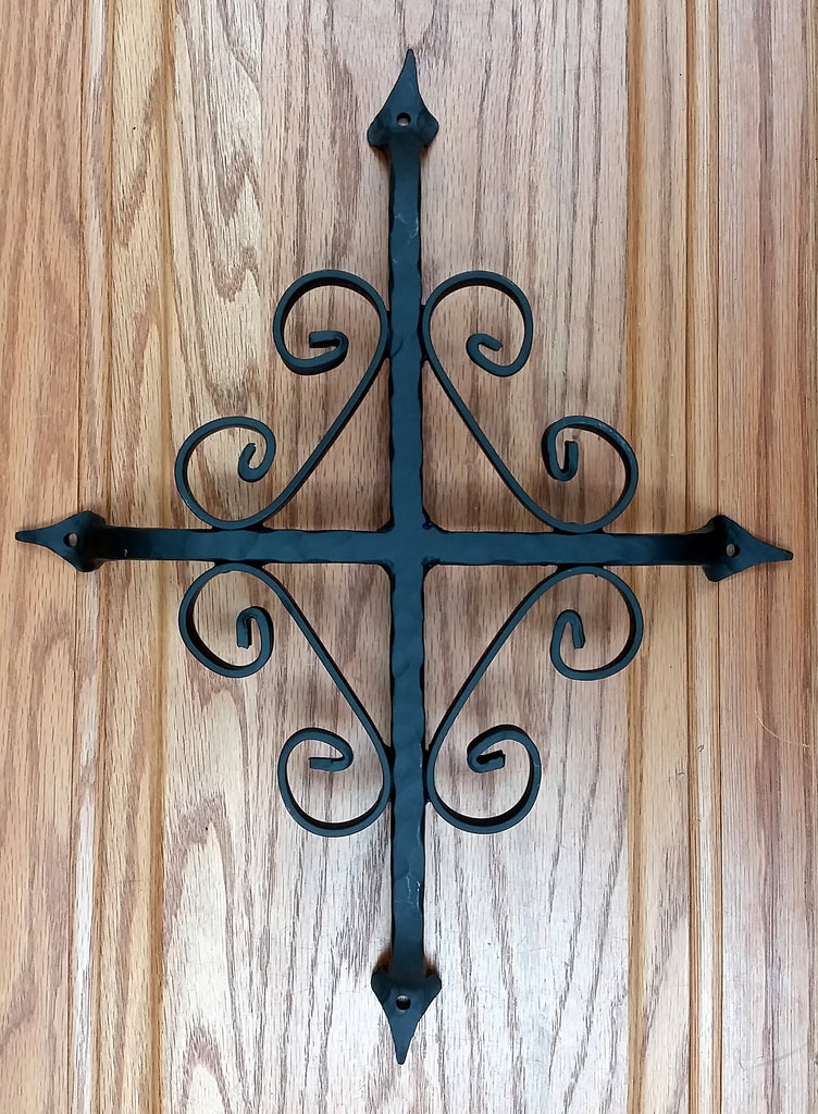 "St. Augustine Grill - 12"" x 14"" - Black Powder Coat finish"