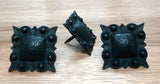 "Square STUDDED Style Clavos, 1"" x 1"" - Oil Rubbed Bronze finish"