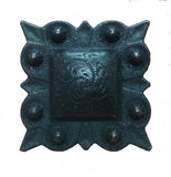 "Square STUDDED Style Clavos, 1 1/4"" x 1 1/4"" - Oil Rubbed Bronze finish"