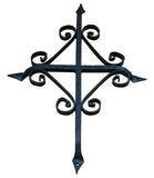 "St. Augustine Grill - 12"" x 16"" - Black Powder Coat finish"