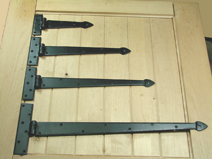 Premium Spear Style Strap Hinges Wild West Hardware