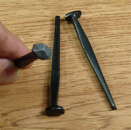Wrought Steel Decorative Nails - 2 1/2""