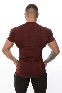 Repwear Fitness HyperFuse Tshirt Ox Red - Repwear Fitness