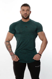 Repwear Fitness HyperFuse Tshirt Turquoise - Repwear Fitness