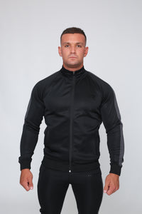 Repwear Fitness Original Poly Tracksuit Jacket Black