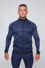 Repwear Fitness Original Poly Tracksuit Jacket Navy Blue