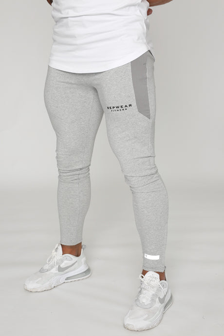 Repwear Fitness ProFit Stone Grey Fitted Bottoms