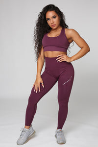 Repwear Fitness ProSculpt Leggings Plum