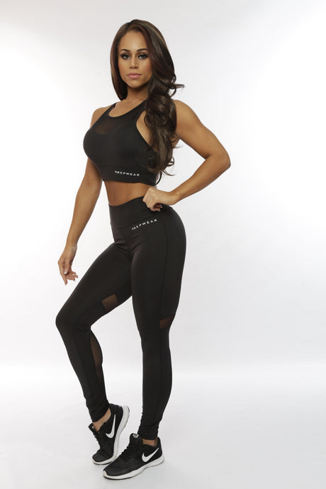 Repwear Fitness ProFlex Leggings Black - Repwear Fitness