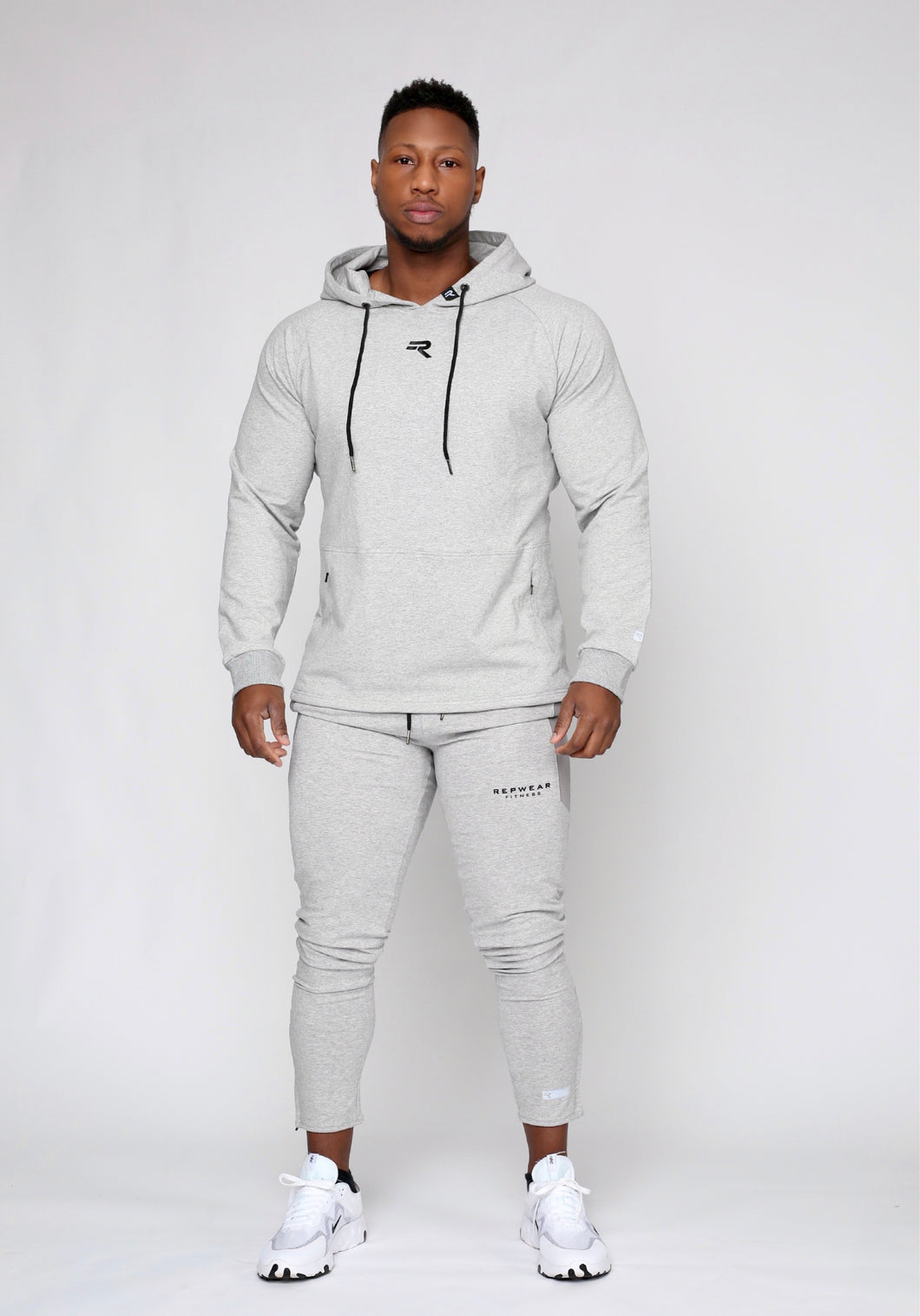Repwear Fitness ProFit Stone Grey Pullover Hoodie