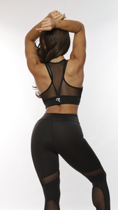 Repwear Fitness ProFlex Sports Bra Black - Repwear Fitness