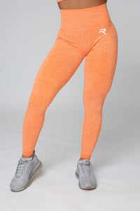 Repwear Fitness ProFlex Scrunch Leggings Orange