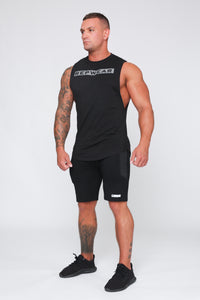 Repwear Fitness Signature Sleeveless T-Shirt Black