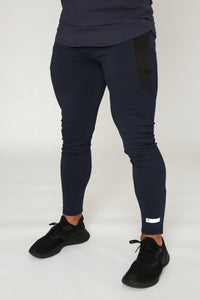 Repwear Fitness ProFit Navy Blue Fitted Bottoms